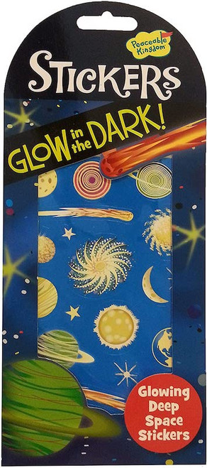 Glow in the Dark Space Stickers