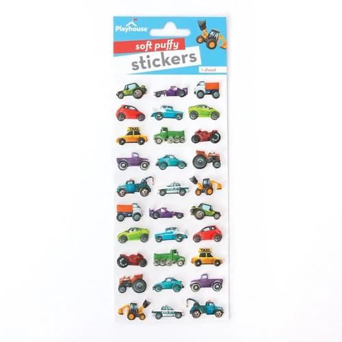 Puffy Mini Car Stickers