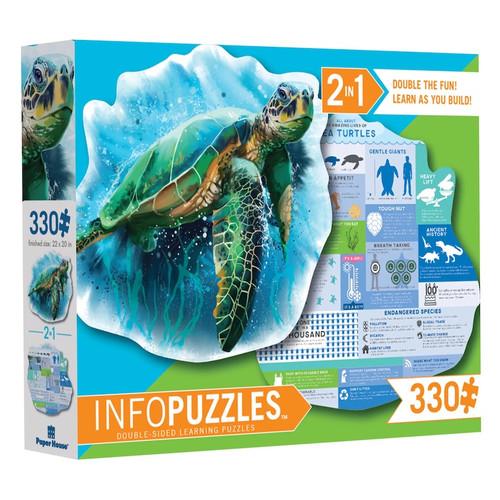 Sea Turtle Info Puzzle