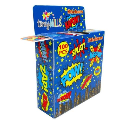 Superhero Sticker Box