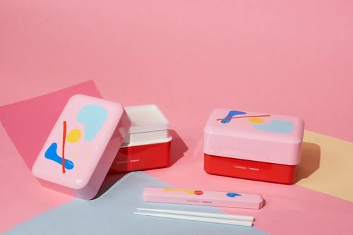 Pink & Red Bento Box