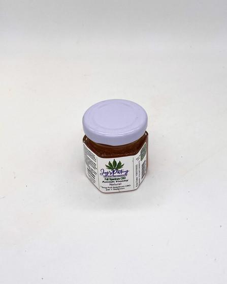 Natural Honey, CBD infused Honey Jars