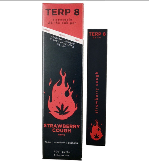Strawberry Cough Disposable Delta-8 Dab Pen