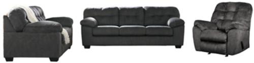 Sofa, Loveseat, & Recliner