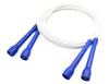 cable double dutch jump rope blue handles