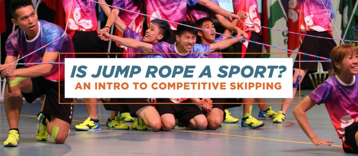 Is Jump Rope a Sport? An Intro to Competitive Skipping
