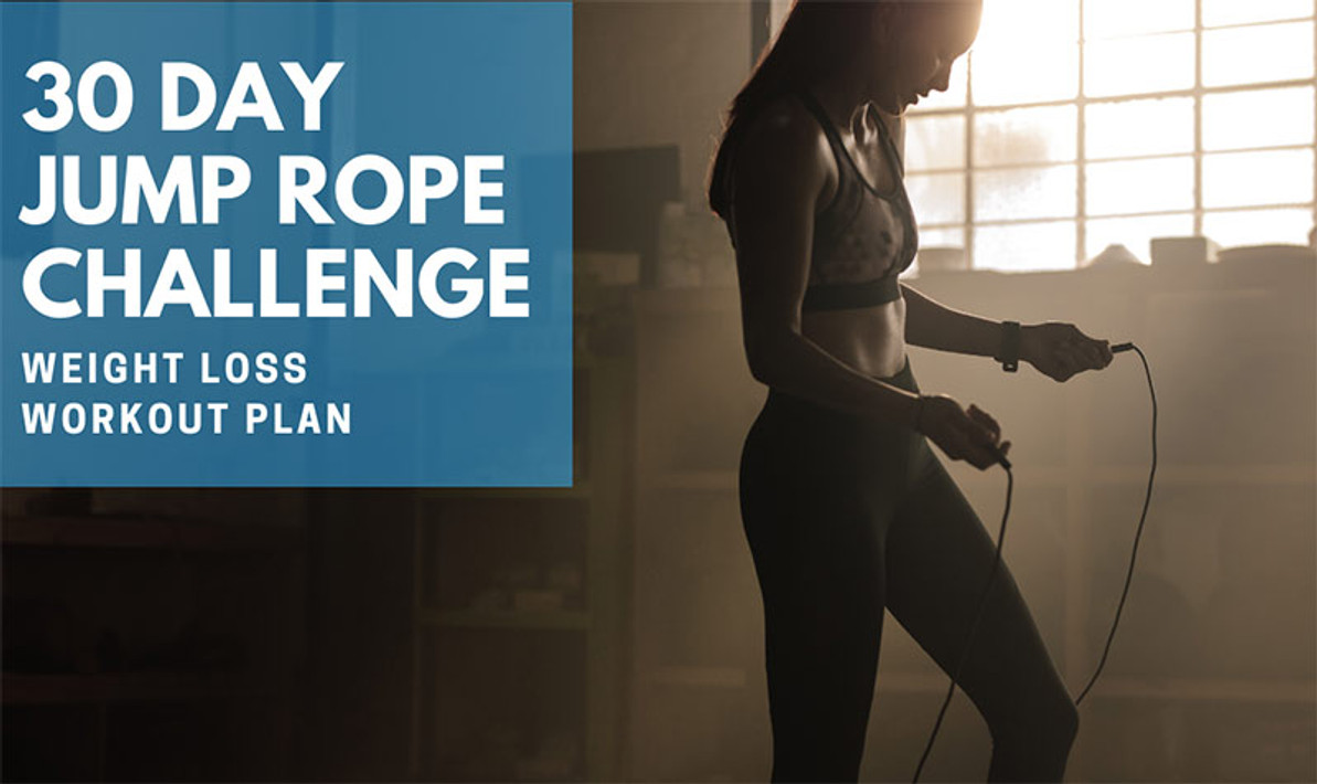 30 Day Jump Rope Challenge for Losing Weight
