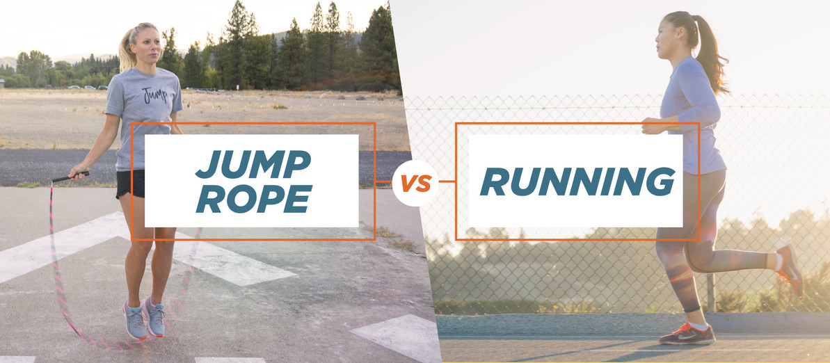 Jump Rope vs Running : Which is Better?