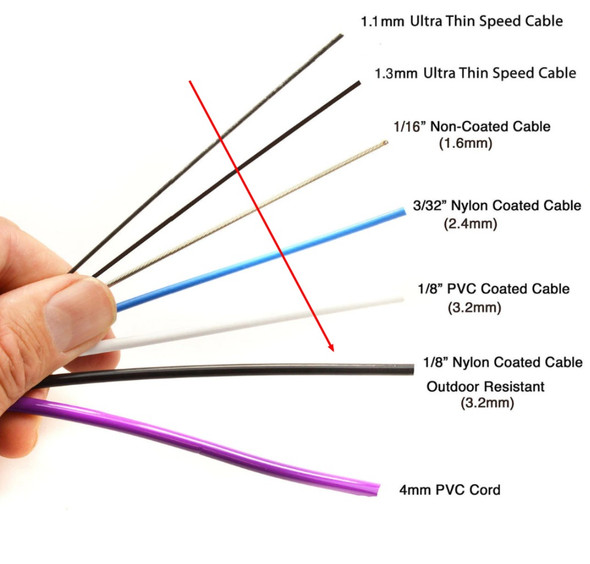 Outdoor Heavy Speed Cable - 3.2mm