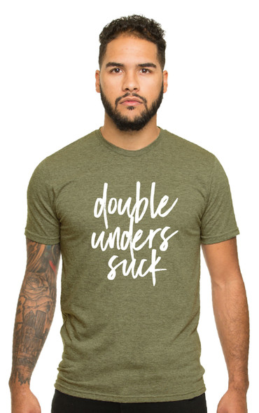 Double Unders Suck - Unisex Crewneck T-Shirt