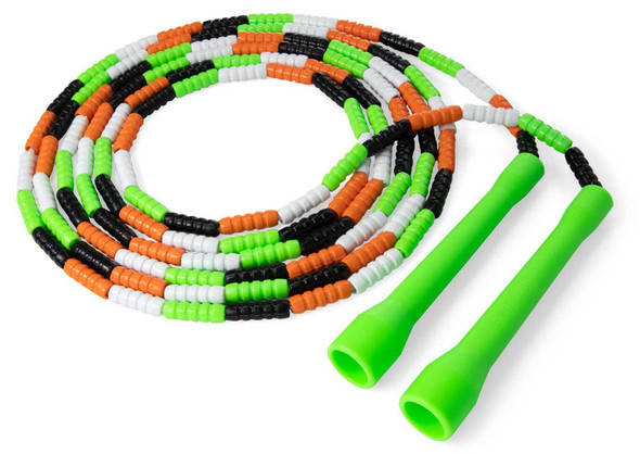 Frankenstein halloween soft beaded jump rope