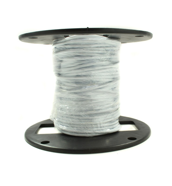 "White 1/8"" Freestyle Cable - 100ft Spool"