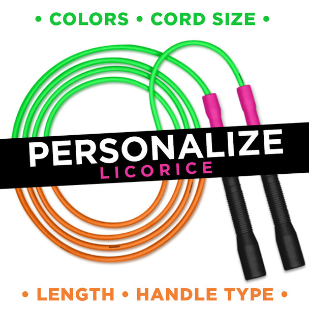 Design Your Own Jump Rope - Licorice