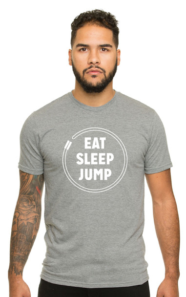 Eat Sleep Jump - Unisex Crewneck T-Shirt