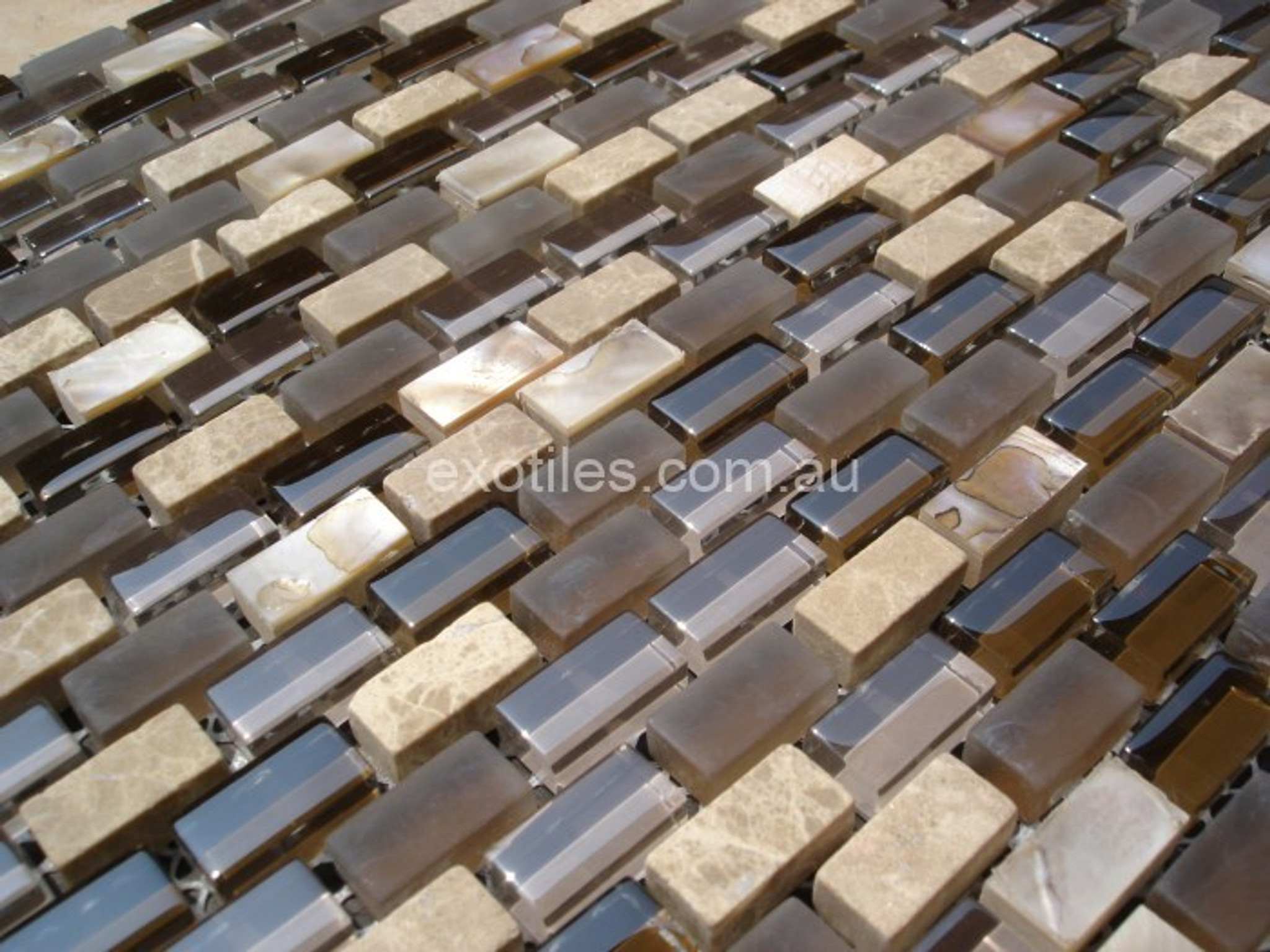 Mother Of Pearl Shell Mosaic Tiles