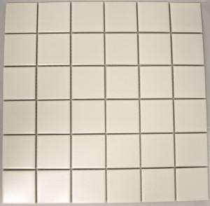PG26 Matte White 48 x 48mm Mosaic
