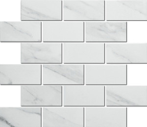 Porcelain carrara mosaic tiles