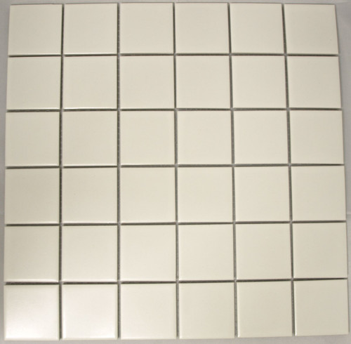 PG26 Matte White 48 x 48mm Mosaic