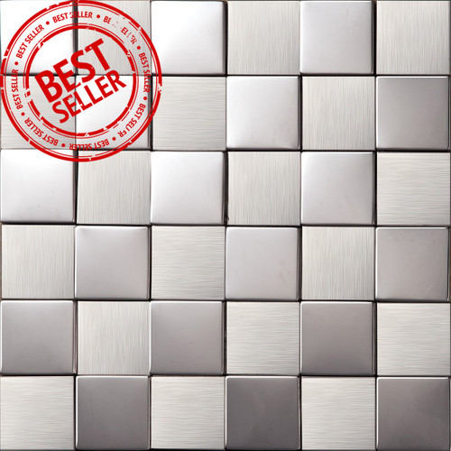 3D Stainless Steel Mosaic Tiles