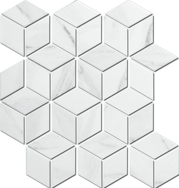 Carrara look porcelain tiles