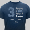 "Blue & Blue ""Reasons"" T-Shirt"