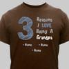 "Brown & Blue ""Reasons"" T-Shirt"