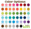 Color Options for Personalized Front Car Mats