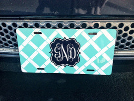 License Plate Personalized Car Tag