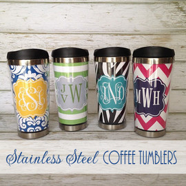 Stainless Steel Personalized Travel Mug