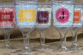 Personalized Wine Goblet
