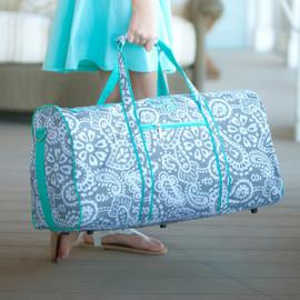 Monogram Parker Paisley Duffel Bag