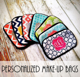 Personalized Make-up Cosmetic Travel Bag