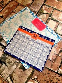 Reusable 11x14 Memo Calender Magnetic Board