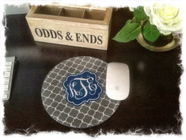 "Round 8"" Mouse Pad - Personalized"