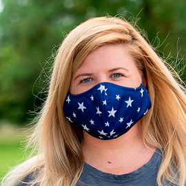 Star Design Adjustable Face Mask