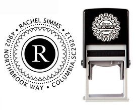 Self-Inking Personalized Address Stamp - CS3204