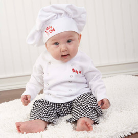 Baby Chef 2 Piece Layette Outfit Gift Set