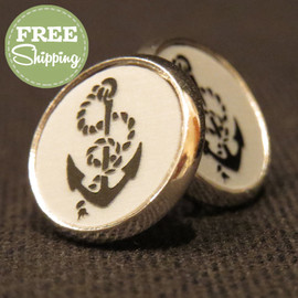 Coastal Life Icon Engraved Acrylic Earrings - FREE Shipping