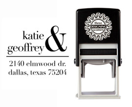 Self-Inking Personalized Address Stamp - CSA10002S