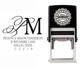 Self-Inking Personalized Address Stamp - CSA10003S