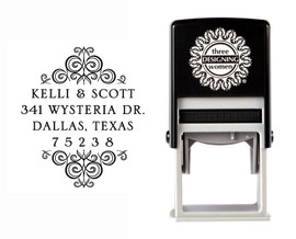 Self-Inking Personalized Address Stamp - CSA10010S