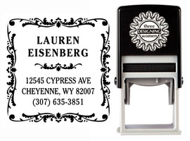 Self-Inking Personalized Address Stamp - CS3229