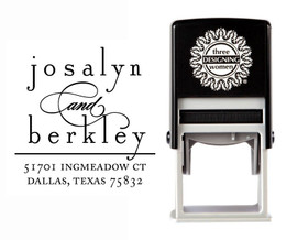 Self-Inking Personalized Address Stamp - CSA10018S