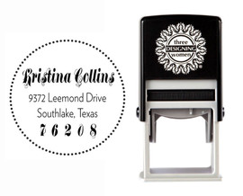 Self-Inking Personalized Address Stamp - CSA10020S