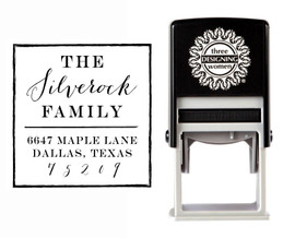 Self-Inking Personalized Address Stamp - CSA10021S