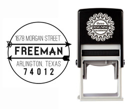 Self-Inking Personalized Address Stamp - CSA10023S
