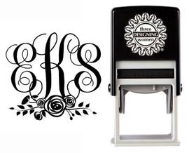 Custom Monogram Stamp CSM10014S