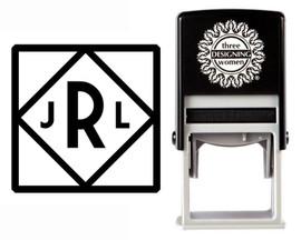 Custom Monogram Stamp CSM10019S