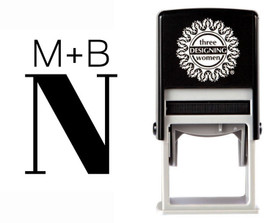 Custom Monogram Stamp CSM10020S