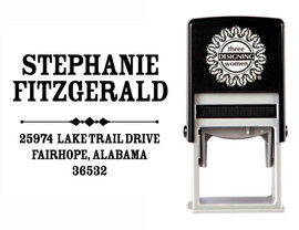 Self-Inking Personalized Address Stamp - CS3652